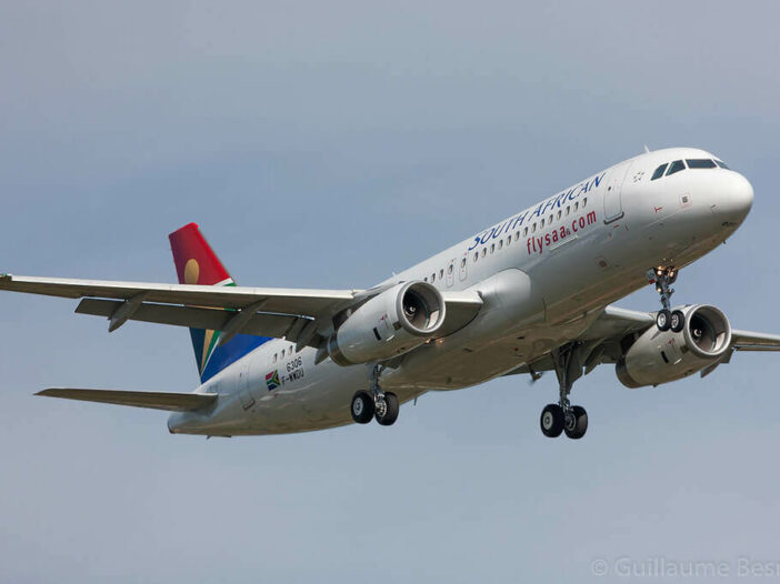 SAA South African Airways ZS SZH Airbus A320 232