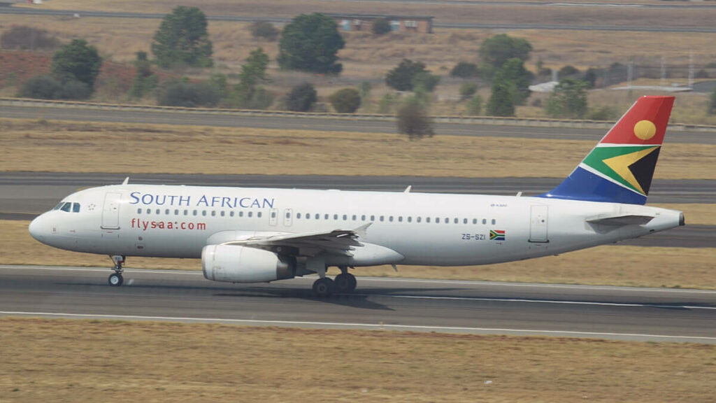 SAA South African Airways ZS SZI Airbus A320 232