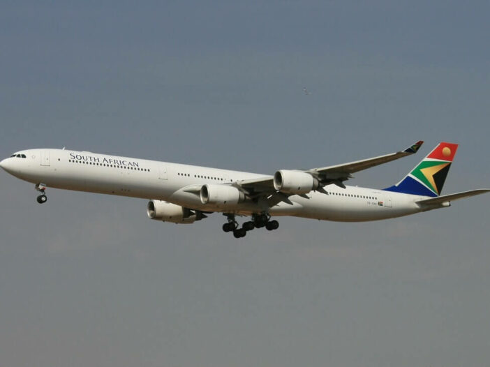 SAA ZS SNE Airbus A340 642 South African Airways at OR Tambo International Airport