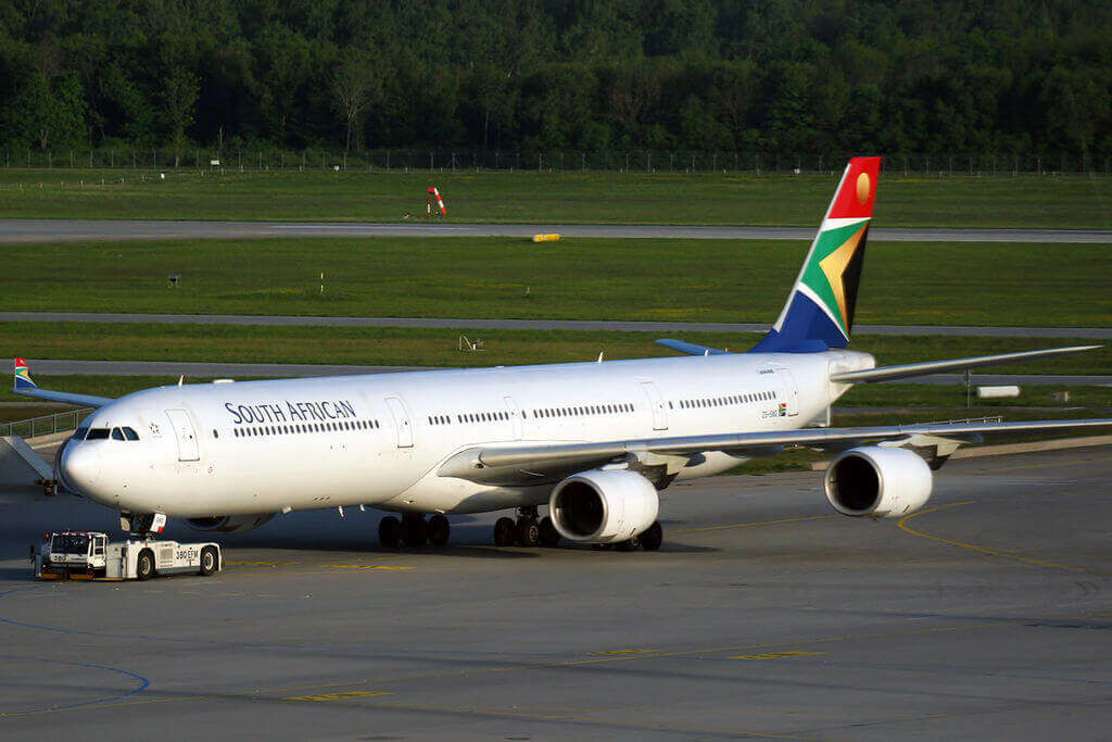 SAA ZS SNG Airbus A340 642 South African Airways at Munich Airport