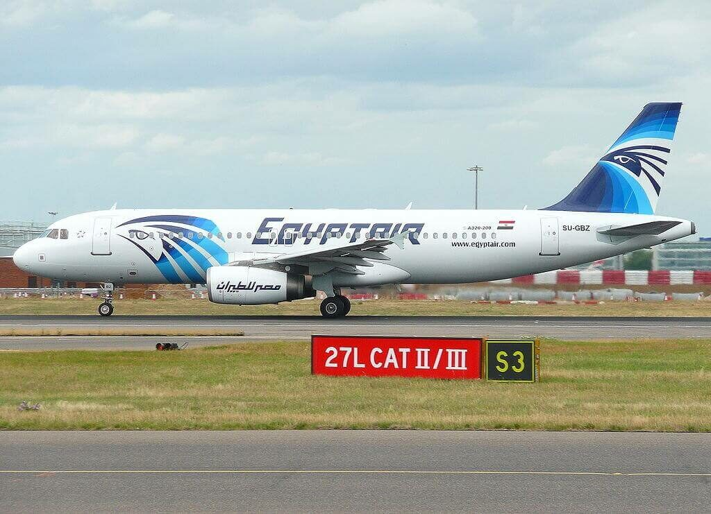 SU GBZ Airbus A320 232 EgyptAir at London Heathrow Airport
