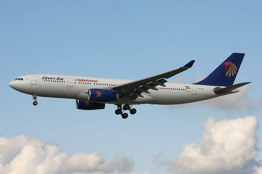 SU GCI Airbus A330 243 EgyptAir at Frankfurt Airport