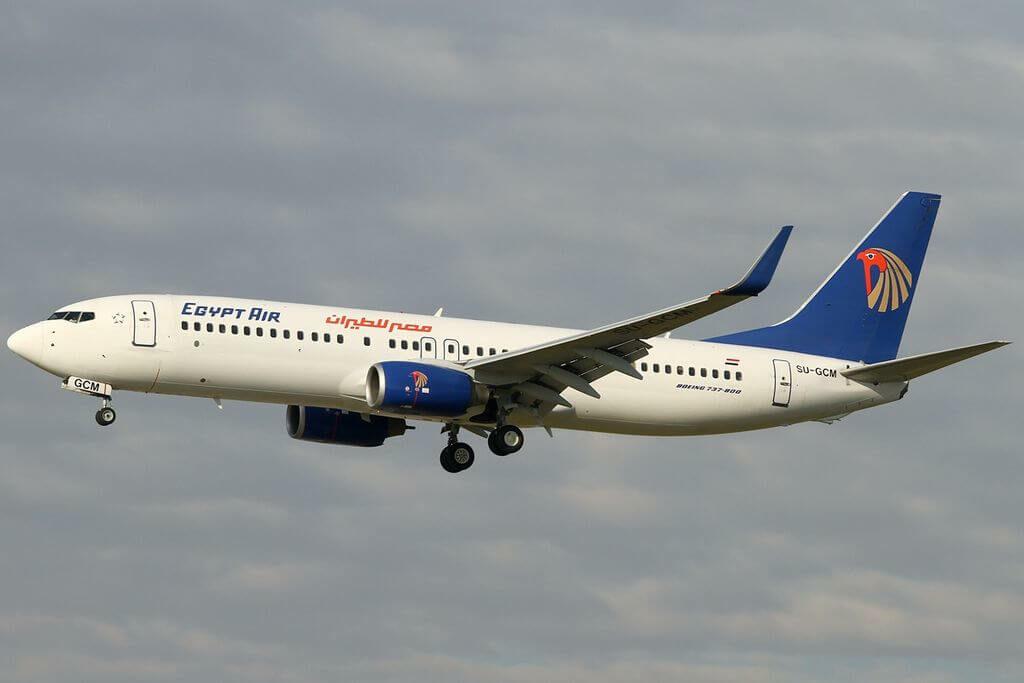SU GCM Boeing 737 866WL EgyptAir at Frankfurt Airport