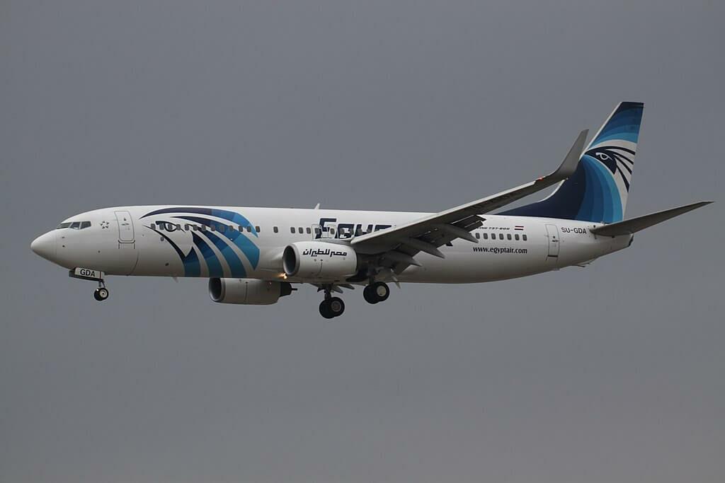 SU GDA Boeing 737 866WL EgyptAir at Frankfurt Airport