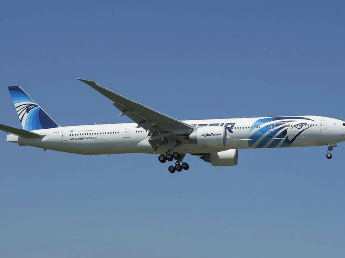 SU GDM Boeing 777 36NER EgyptAir at London Heathrow Airport