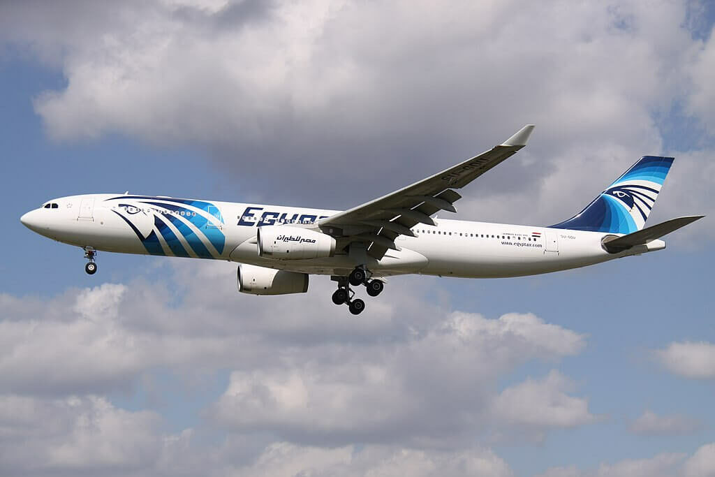 SU GDU Airbus A330 343 EgyptAir at London Heathrow Airport