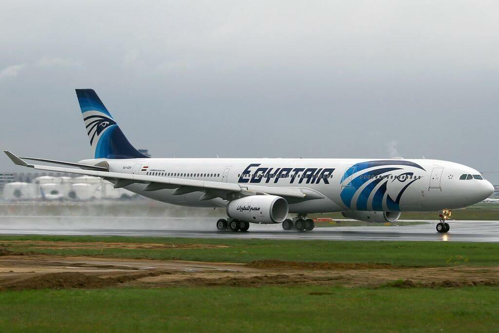 SU GDV Airbus A330 343 EgyptAir at Frankfurt Airport