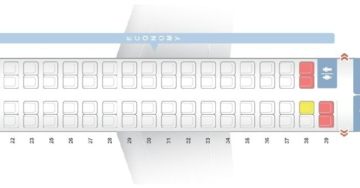 Seat Map and Seating Chart ATR 72 600 Garuda Indonesia