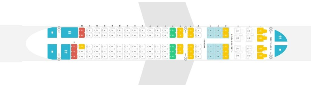 Seat Map and Seating Chart Airbus A220 100 Delta Air Lines