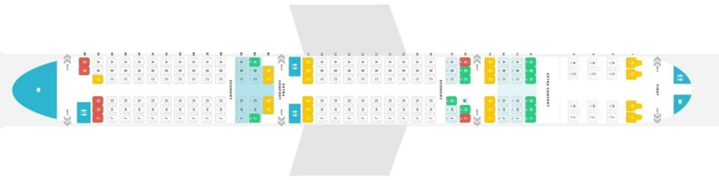 Seat Map and Seating Chart Airbus A321neo Hawaiian Airlines