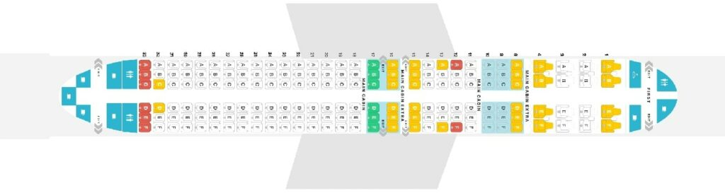Seat Map and Seating Chart Boeing 737 Max 8 American Airlines