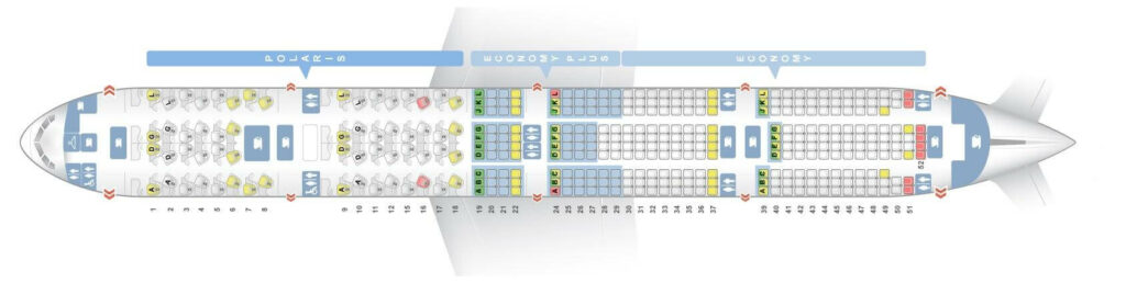 Seat Map and Seating Chart Boeing 777 300ER United Airlines