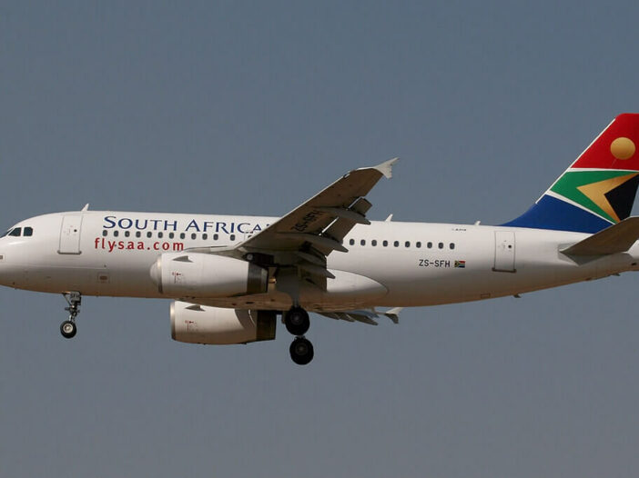 South African Airways ZS SFH Airbus A319 131 at OR Tambo International Airport