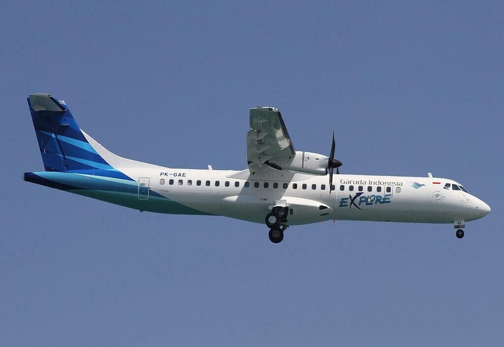 Garuda Indonesia Explore PK GAE ATR 72 600 72 212A