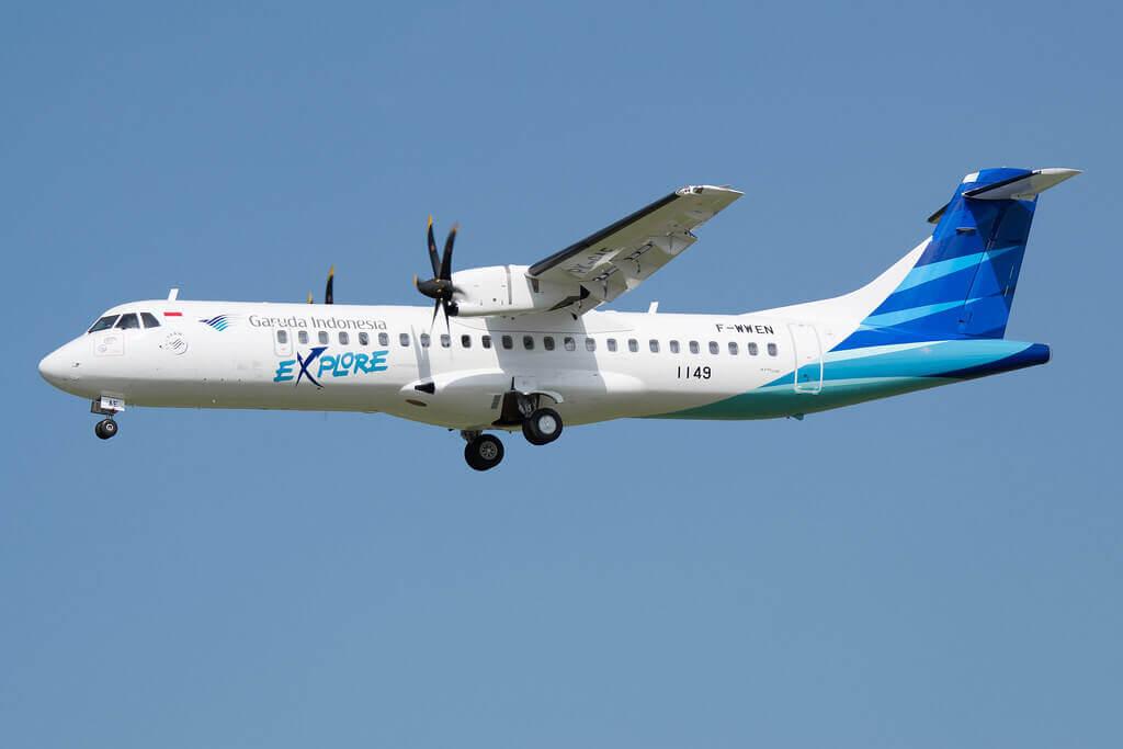 Garuda Indonesia Explore PK GAF ATR 72 600 72 212A