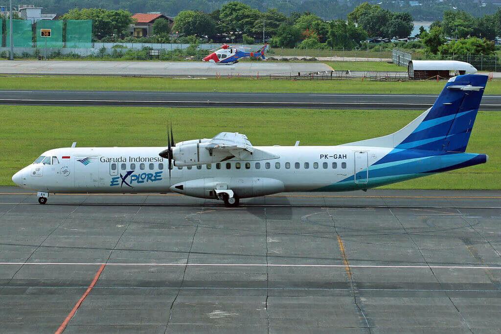 Garuda Indonesia Explore PK GAH ATR 72 600 72 212A at Denpasar Ngurah Rai Airport