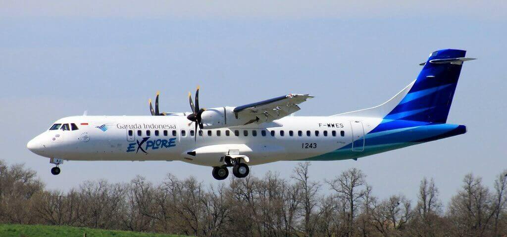 Garuda Indonesia Explore PK GAJ ATR 72 600 72 212A