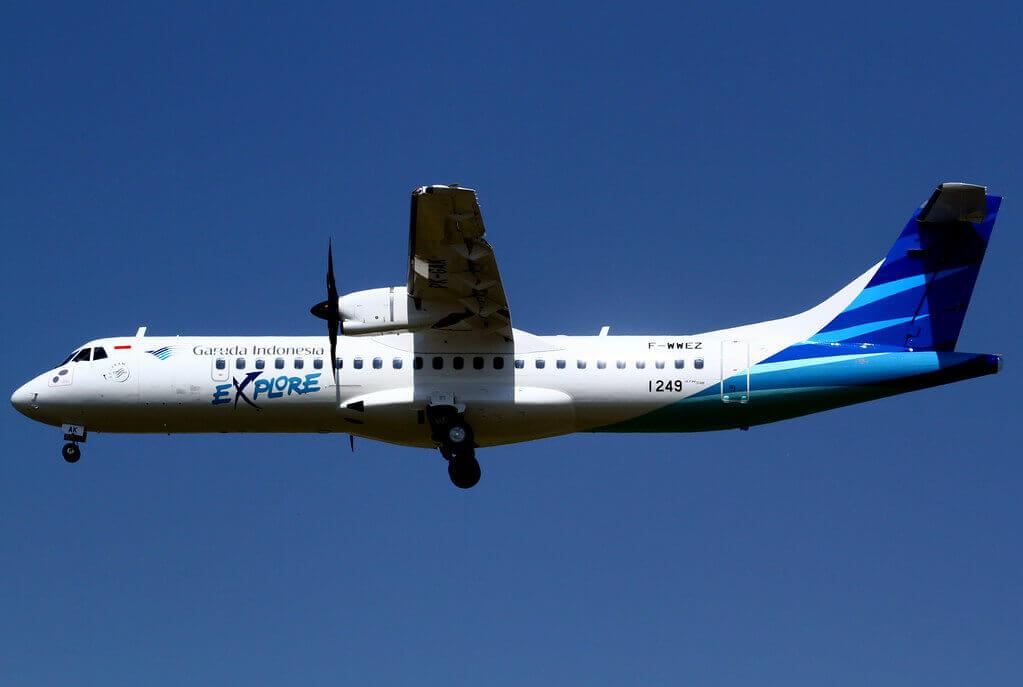 Garuda Indonesia Explore PK GAK ATR 72 600 72 212A