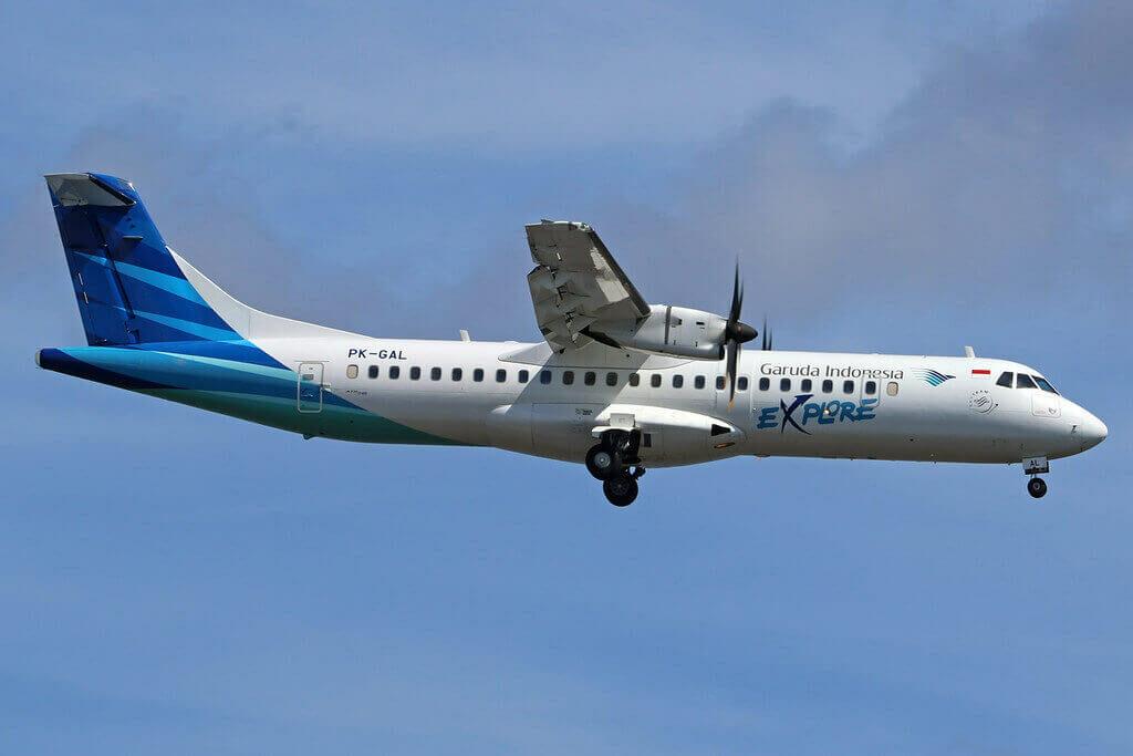 Garuda Indonesia Explore PK GAL ATR 72 600 72 212A