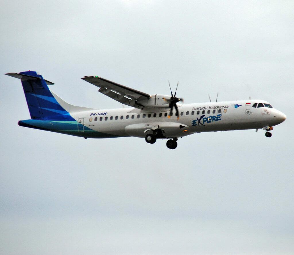 Garuda Indonesia Explore PK GAM ATR 72 600 72 212A