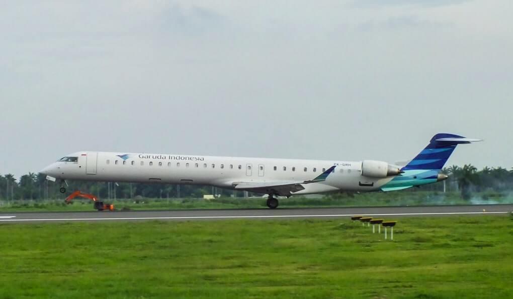 Garuda Indonesia Explore PK GRH Bombardier CRJ 1000ER CL 600 2E25