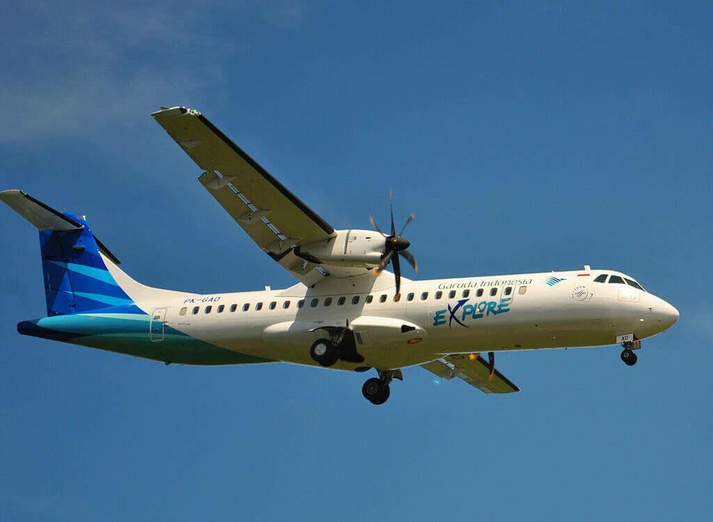 Garuda Indonesia PK GAD ATR 72 600 72 212A at Ngurah Rai Airport Denpasar Bali