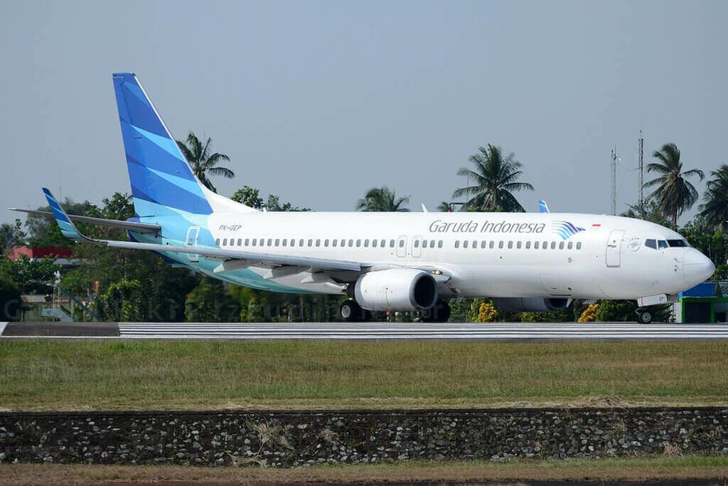 Garuda Indonesia PK GEP Boeing 737 8ASWL