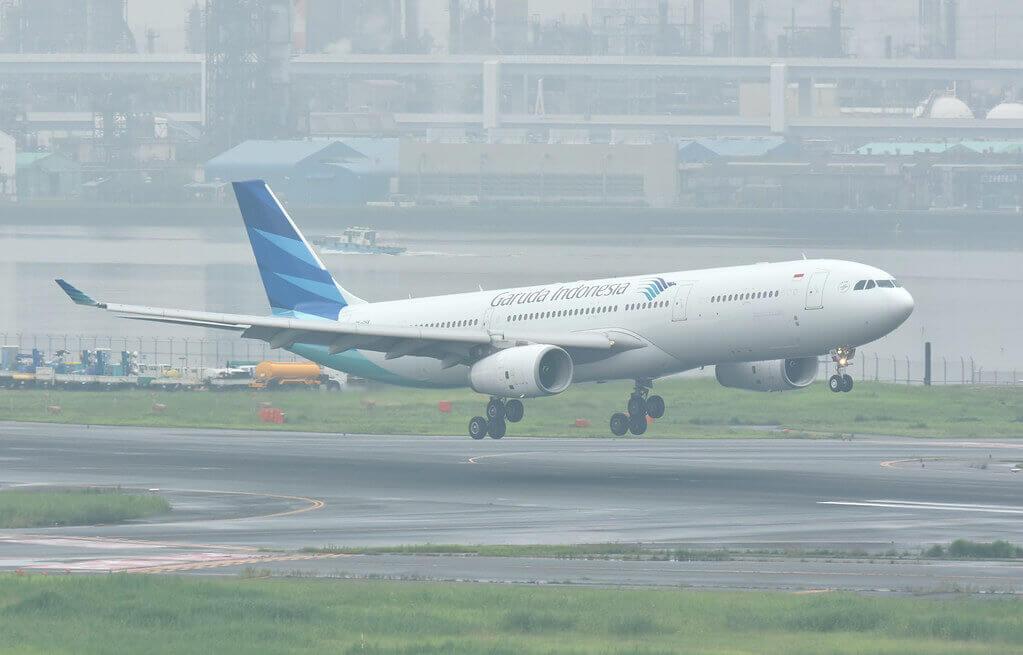 Garuda Indonesia PK GHA Airbus A330 343