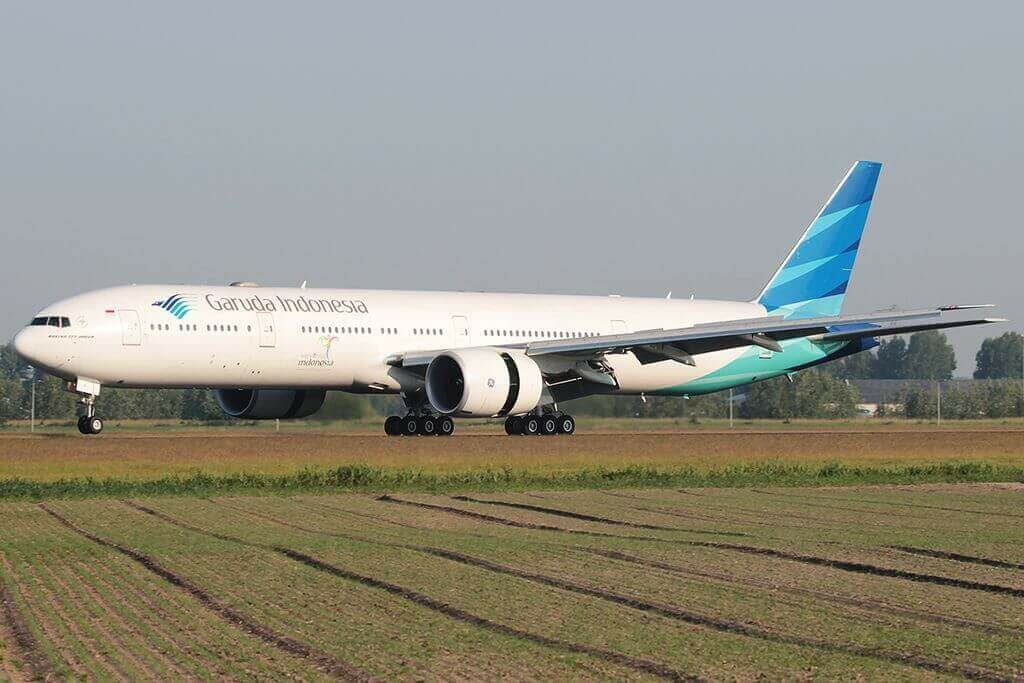 Garuda Indonesia PK GIE Boeing 777 3U3ER