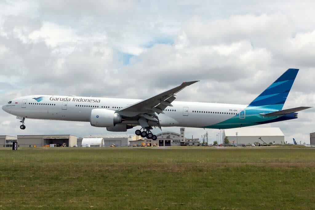Garuda Indonesia PK GIH Boeing 777 3U3ER