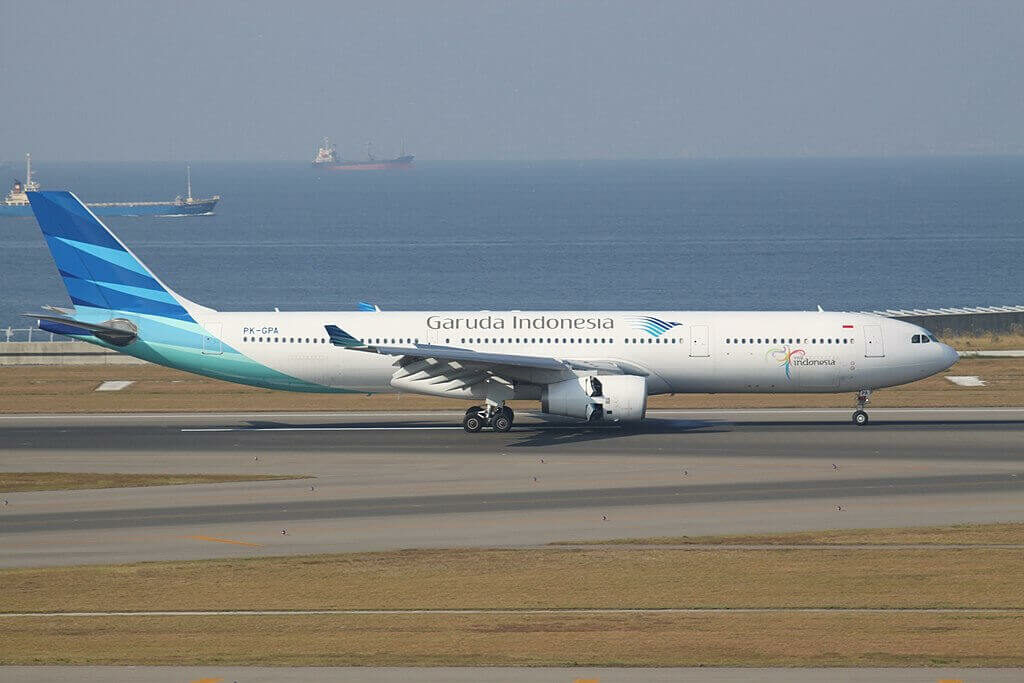 Garuda Indonesia PK GPA Airbus A330 341 at Nagoya Chūbu Centrair International