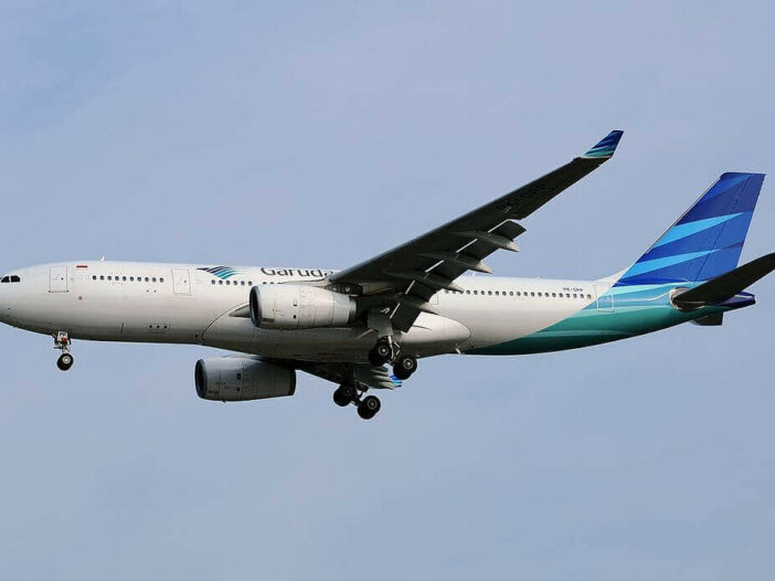 Garuda Indonesia PK GPP Airbus A330 243 at Singapore Changi Airport