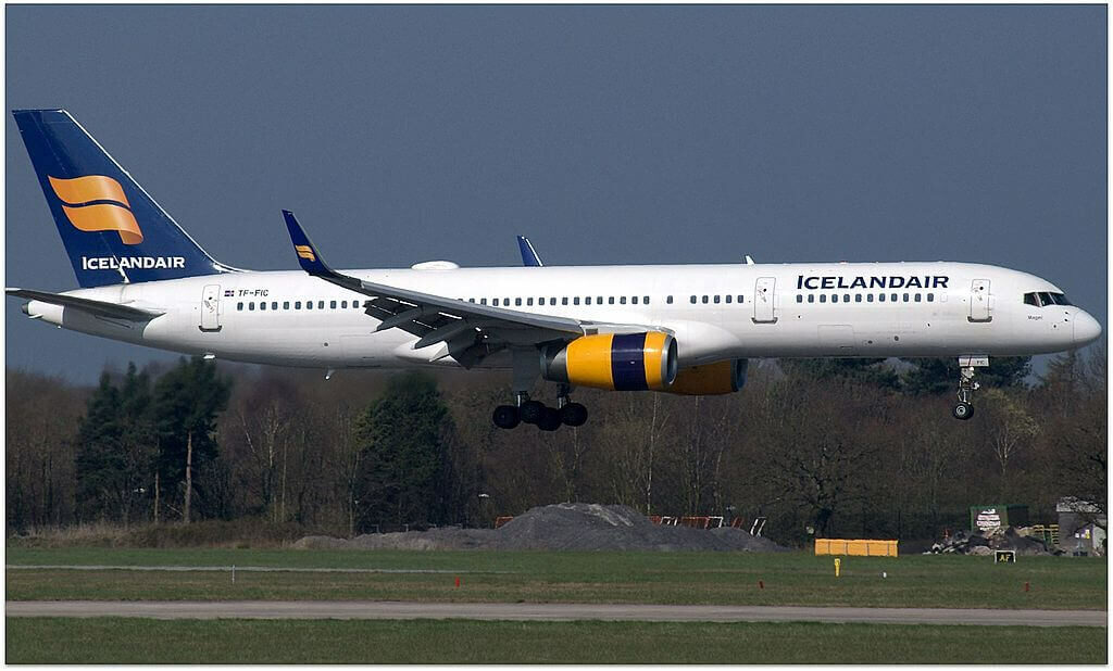 Icelandair TF FIC Boeing 757 23NWL Magni at Manchester Airport