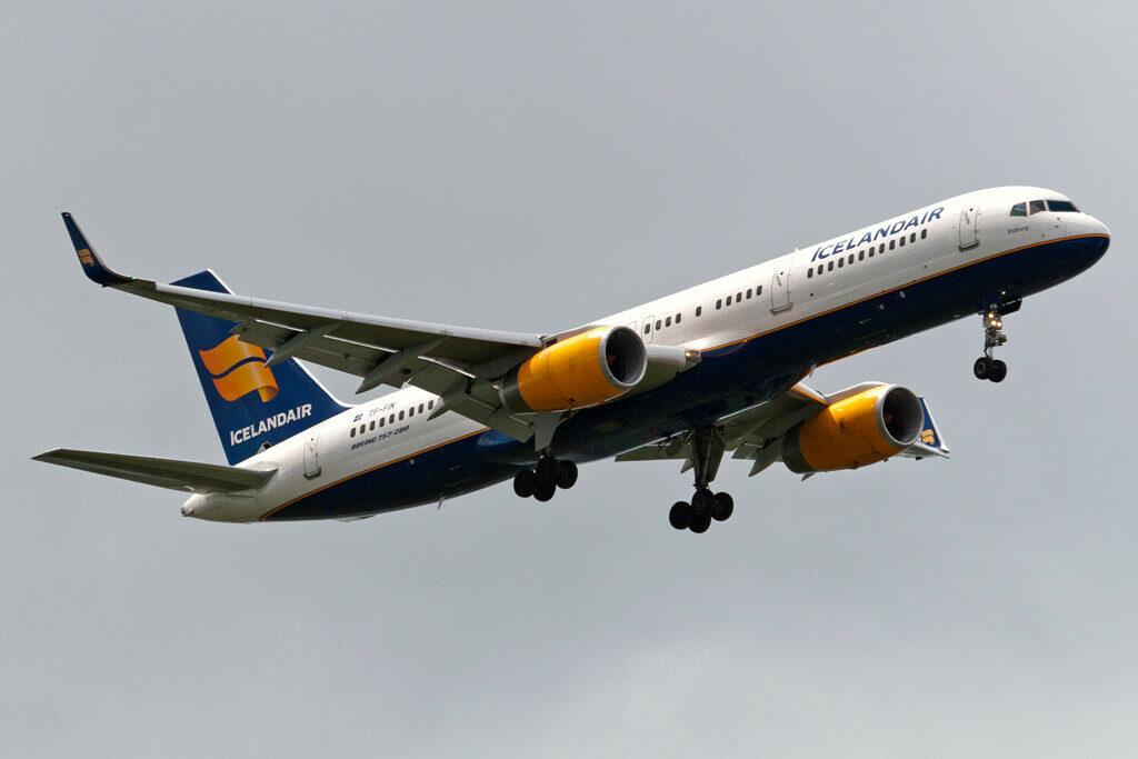 Icelandair TF FIN Boeing 757 208WL Eldborg at Amsterdam Airport Schiphol