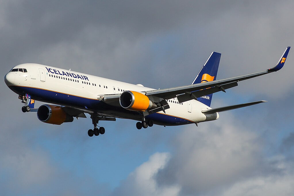 Icelandair TF ISO Boeing 767 319ERWL Hlöðufell at London Heathrow Airport