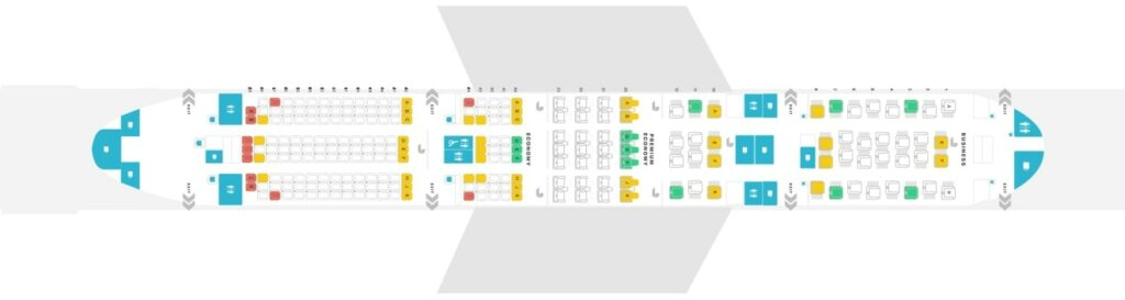 Qantas Boeing 787 9 Dreamliner Seating Plan
