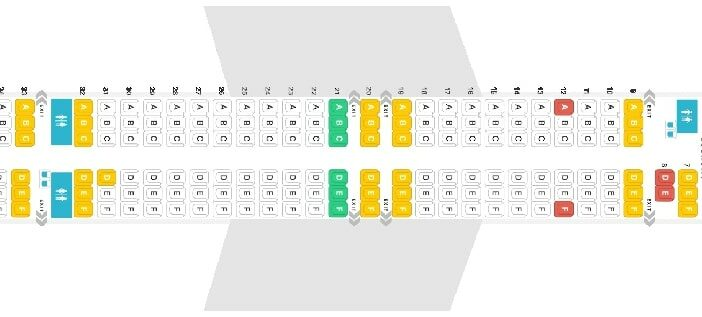 Seat Map and Seating Chart Boeing 757 300 Icelandair