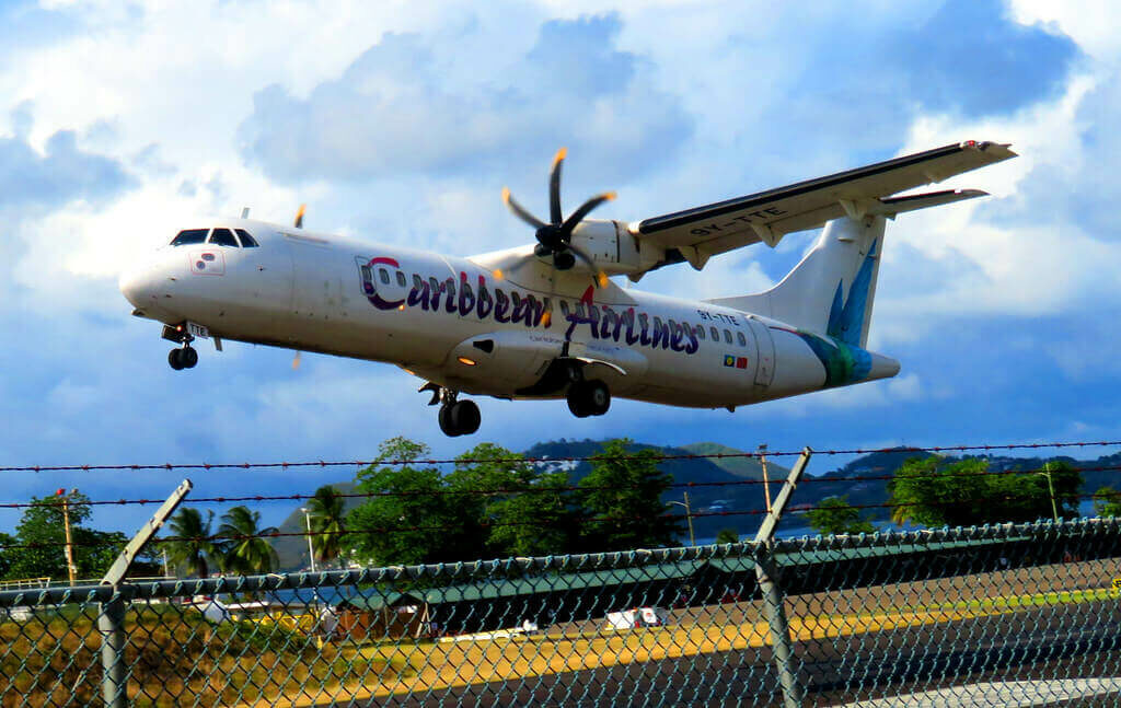 ATR 72 600 Caribbean Airlines 9Y TTE