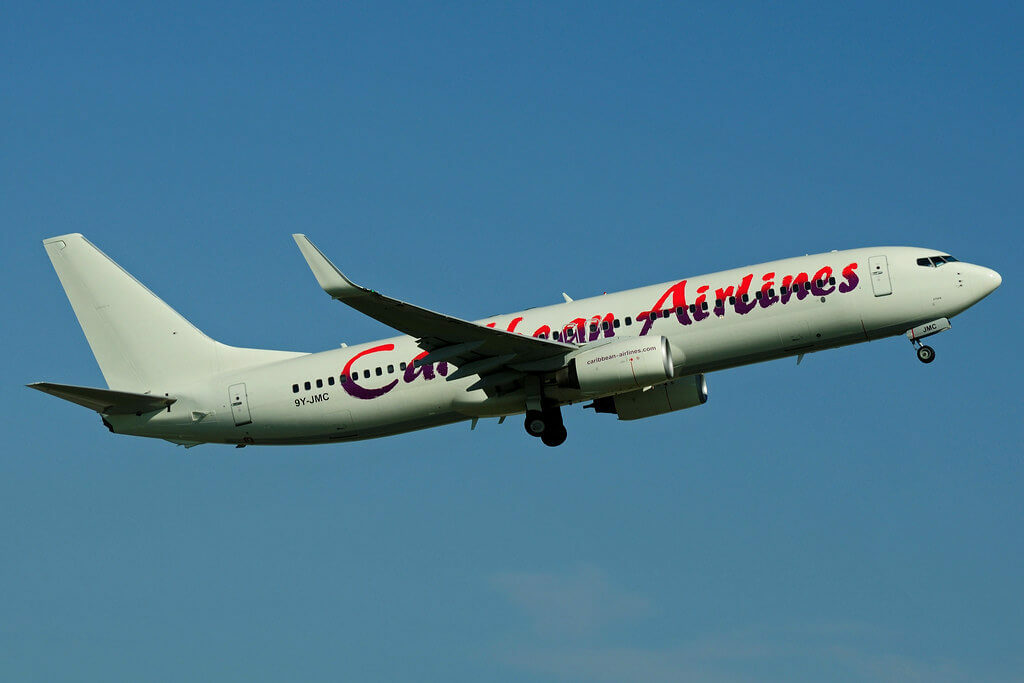 Caribbean Airlines 9Y JMC Boeing 737 800