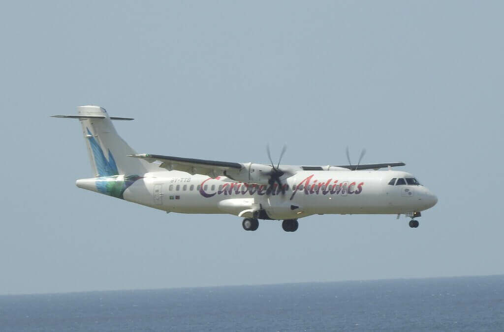 Caribbean Airlines ATR 72 600 9Y TTB at George F L Charles Airport Saint Lucia