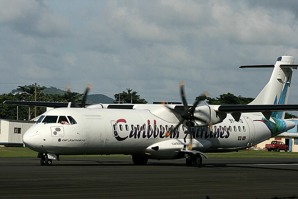 Caribbean Airlines ATR 72 600 9Y TTD at Port of Spain