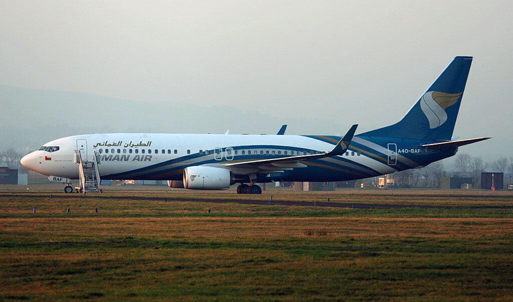 Oman Air A4O BAF Boeing 737 8SHWL