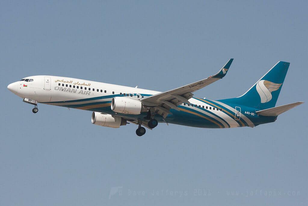 Oman Air A4O BD Boeing 737 81MWL