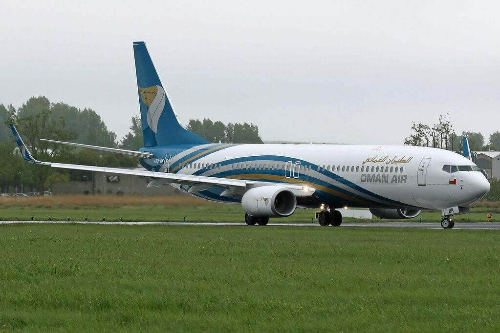 Oman Air A4O BK Boeing 737 91MERWL