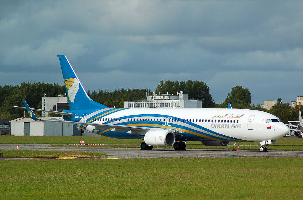 Oman Air A4O BZ Boeing 737 91MERWL Delivery Flight at Shannon