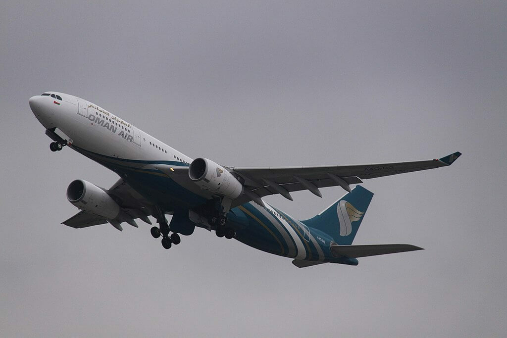 Oman Air A4O DG Airbus A330 243 at Zurich International Airport