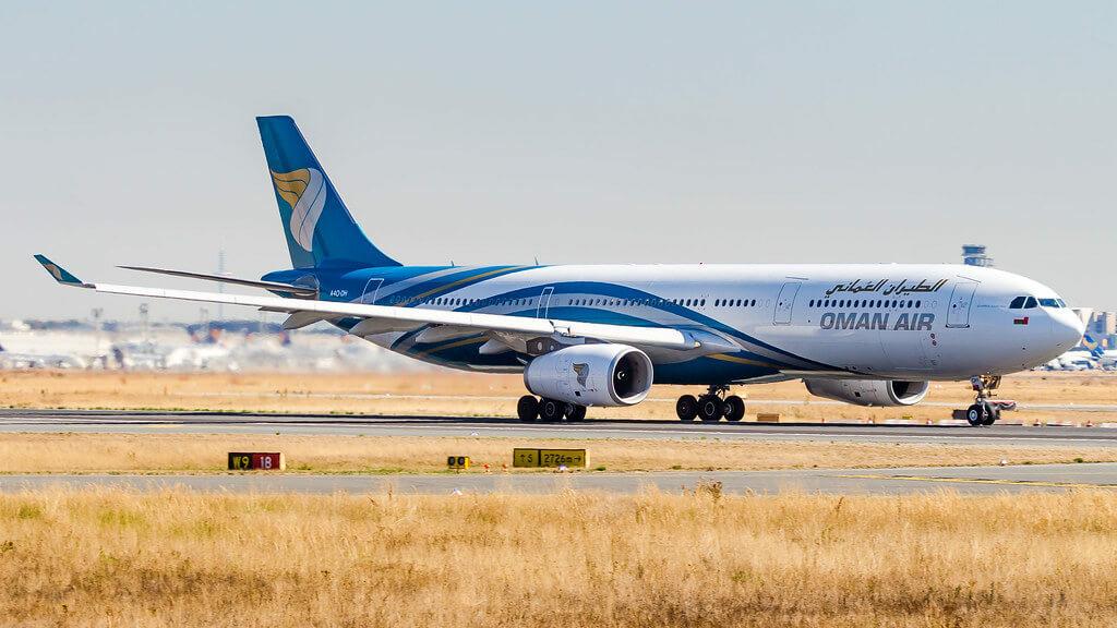 Oman Air A4O DH Airbus A330 343