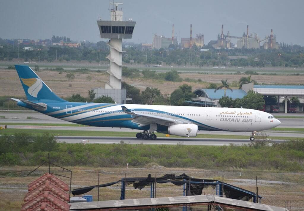 Oman Air A4O DJ Airbus A330 343 at Bangkok Suvarnabhumi International Airport