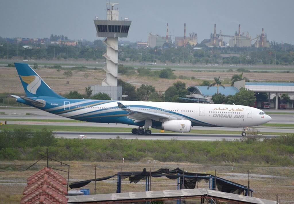 Oman Air A4O DJ Airbus A330 343 at Bangkok Suvarnabhumi International Airport