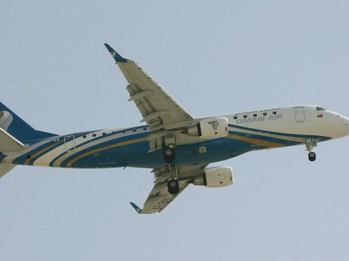 Oman Air A4O EA Embraer ERJ 175AR ERJ 170 200 IGW
